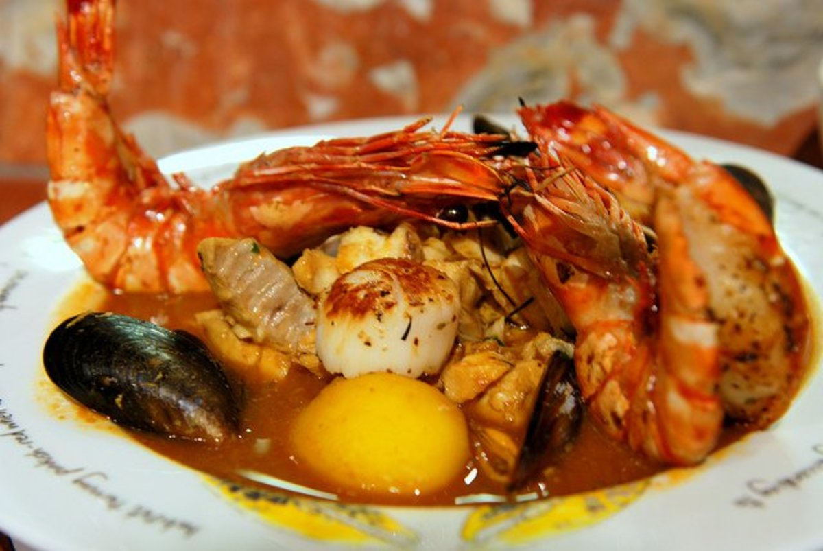 The ultimate seafood lover dish ...