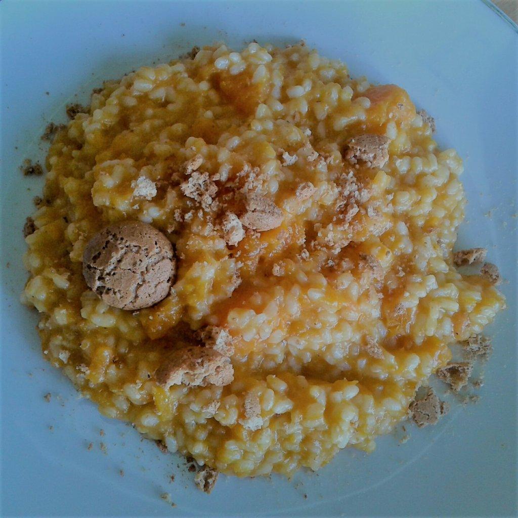 Butternut risotto and amaretti.jpg