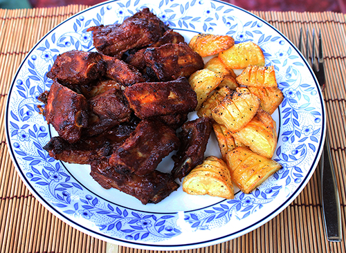 ribs and roast spuds vs.jpg