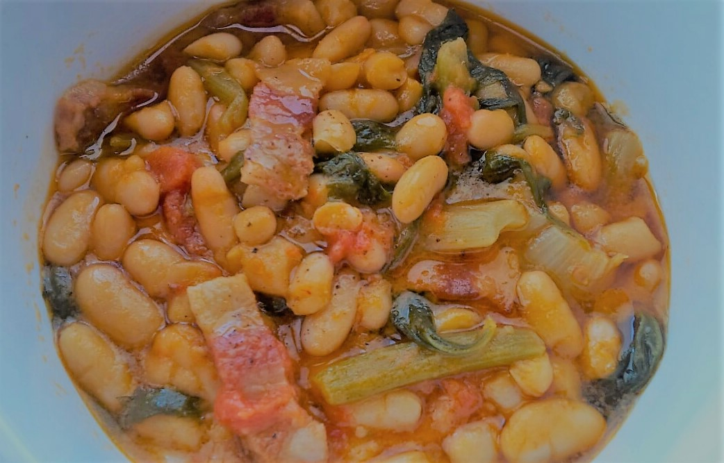 Simple bean stew with bacon and celery.jpg