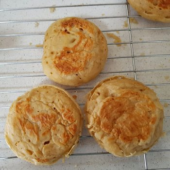 Crumpets & thick batter