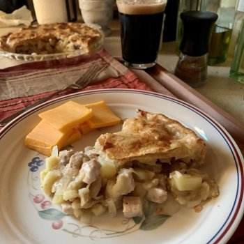 Pork-Apple-Potato-Onion Pie