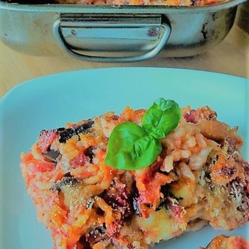 Oven Baked Rice with Aubergines and Mozzarella.jpg