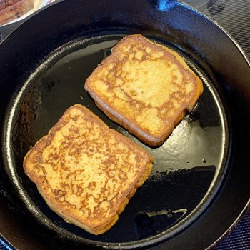 Frying French Toast!