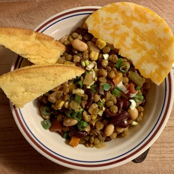 Almost Vegetarian Chili