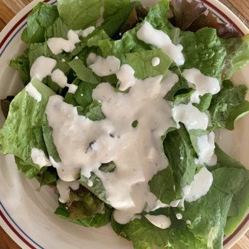 Mixed Greens & Buttermilk Dressing