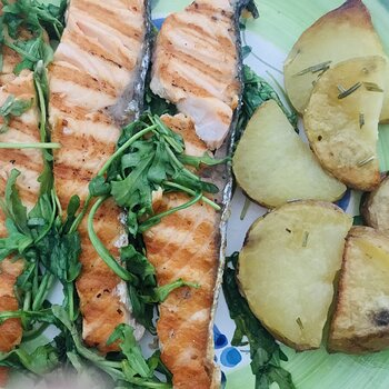 Grilled Salmon with Baked Potatoes.jpeg