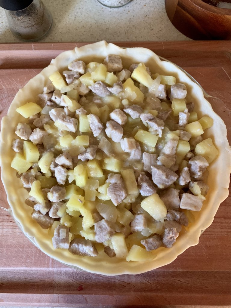 Pork And Apple Pie - Pre-Bake